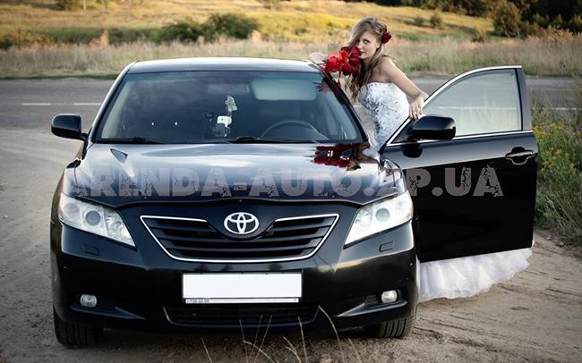 Аренда Toyota Camry 40 на свадьбу Запорожье