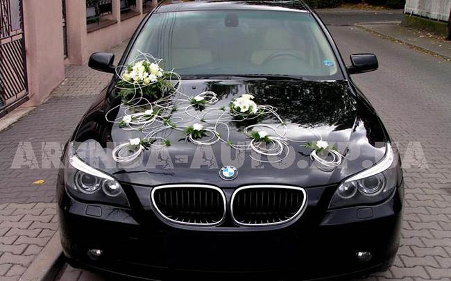 Аренда BMW 5 на свадьбу Запорожье
