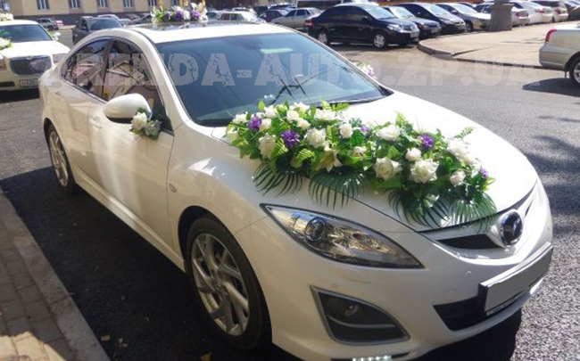 Аренда Mazda 6 на свадьбу Запорожье