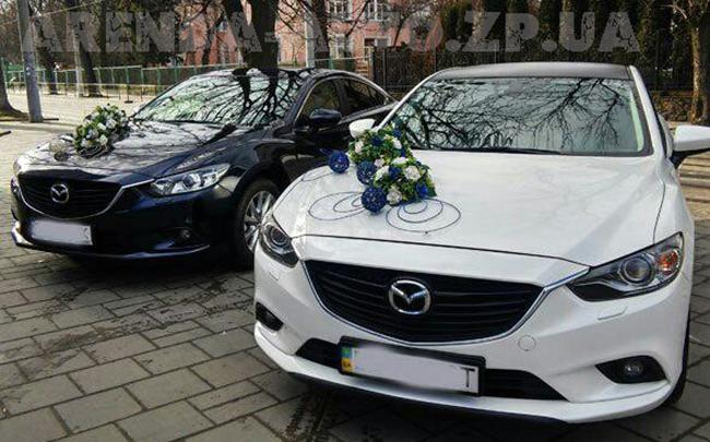 Аренда Mazda 6 New на свадьбу Запорожье