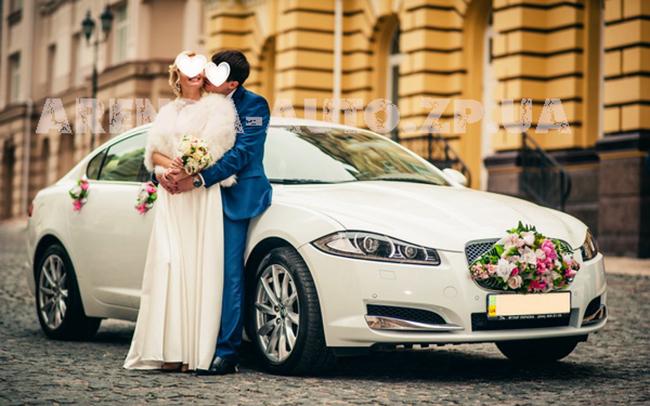Аренда Jaguar XF на свадьбу Запорожье