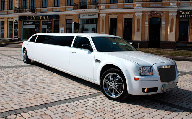 Аренда Лимузин Chrysler 300C на свадьбу Запорожье