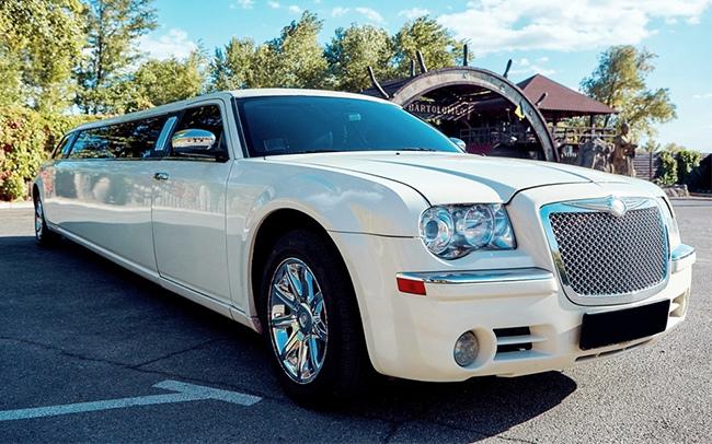 Аренда Лимузин Chrysler 300C Versace на свадьбу Запорожье
