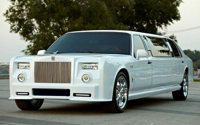 Аренда Лимузин Rolls-Royce Phantom на свадьбу Запорожье