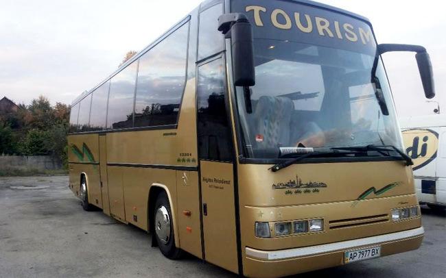 Аренда Автобус Mercedes 48 мест на свадьбу Запорожье