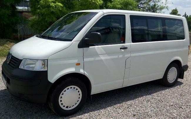 Аренда Микроавтобус Volkswagen Transporter T5 на свадьбу Запорожье