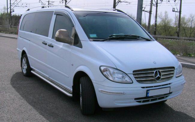Аренда Микроавтобус Mercedes Vito на свадьбу Запорожье