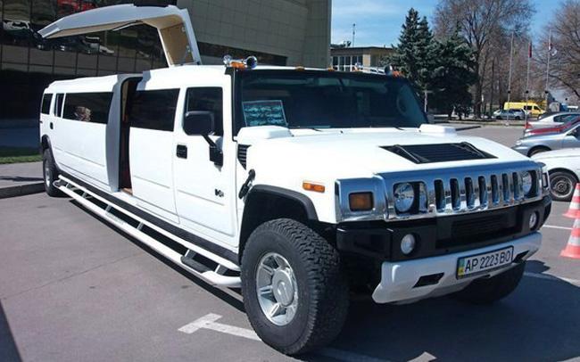 Аренда Лимузин Hummer H2 на свадьбу Запорожье
