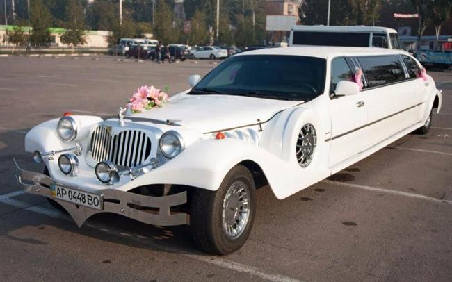 Аренда Лимузин Excalibur на свадьбу Запорожье
