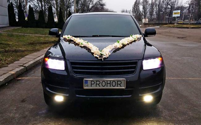 Аренда Volkswagen Touareg на свадьбу Запорожье