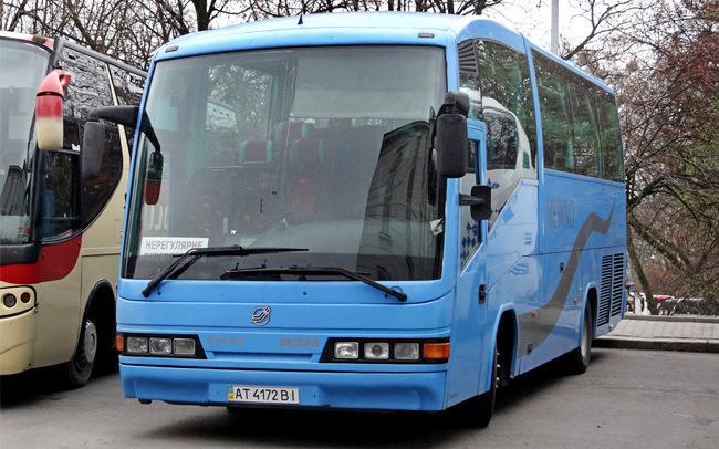 Аренда Автобус Irizar Century на свадьбу Запорожье