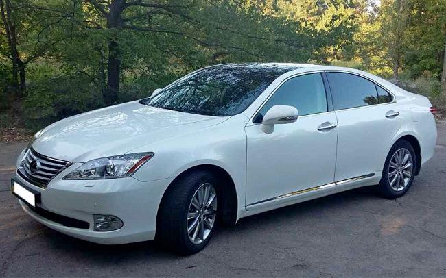 Аренда Lexus ES 350 на свадьбу Запорожье