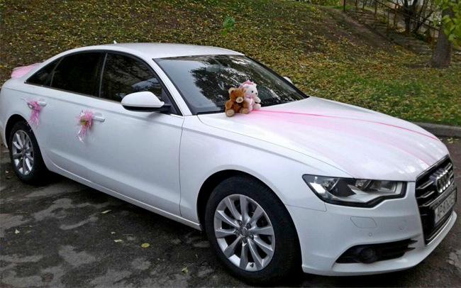 Аренда Audi A6 на свадьбу Запорожье