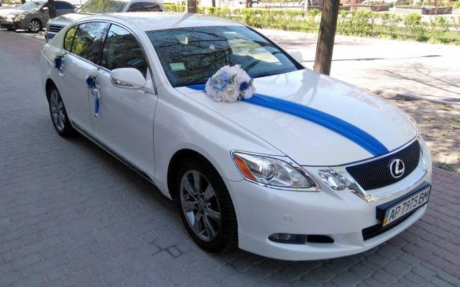 Аренда Lexus GS300 на свадьбу Запорожье