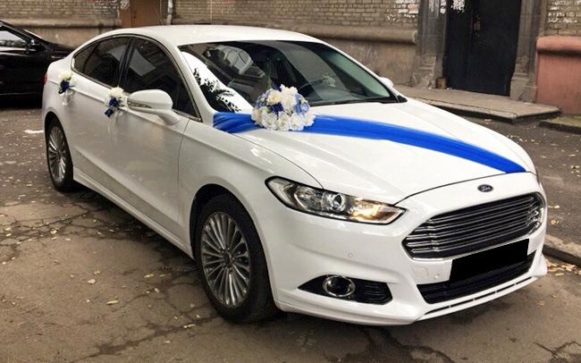 Аренда Ford Fusion на свадьбу Запорожье