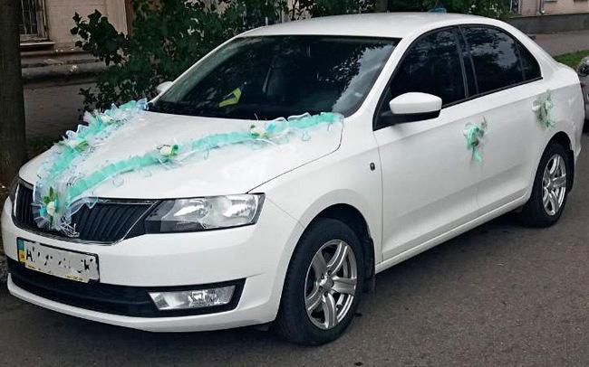 Аренда Skoda Rapid на свадьбу Запорожье