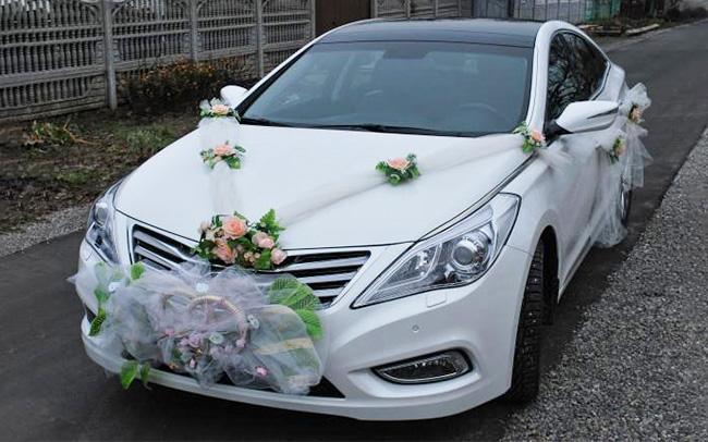 Аренда Hyundai Grandeur на свадьбу Запорожье